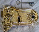 Reproduction lock and key